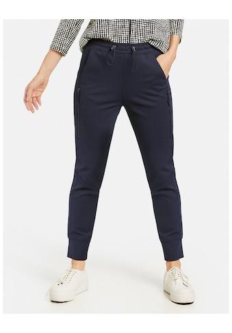 GERRY WEBER 7/8 - Hose »Jogpants mit Zipdetails« kaufen