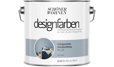 SCHÖNER WOHNEN-Kollektion Wand- und Deckenfarbe »Designfarben«, entspanntes... kaufen