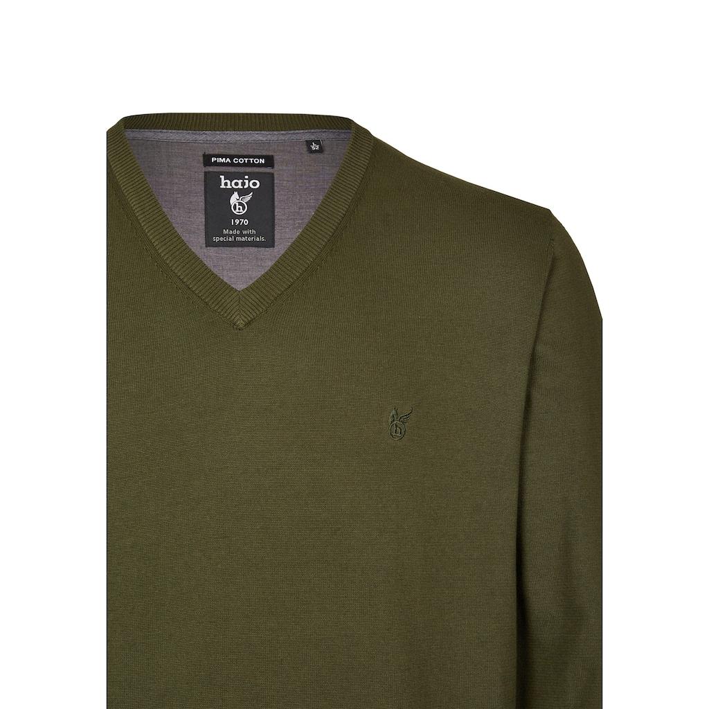 Hajo V-Ausschnitt-Pullover