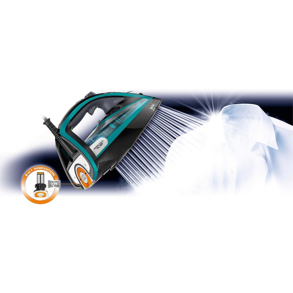Tefal Dampfbügeleisen »FV9844 Ultimate Pure«, 3200 W, Durilium Airglide Autoclean-Bügelsohle, Automatische Abschaltung