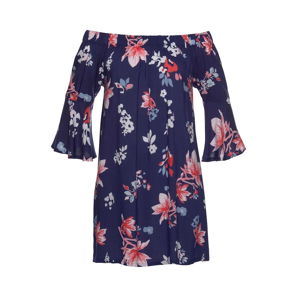 Beachtime Blusenkleid, aus gewebter Viskose
