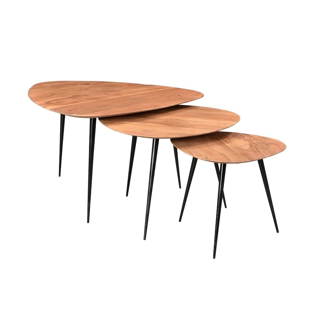 SIT Couchtisch, mit Massivholzplatte aus Akazie