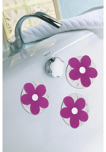 KLEINE WOLKE Duscheinlage »Viola Minis«, Set 4 - teilig, BxH: 11 x 11 cm kaufen