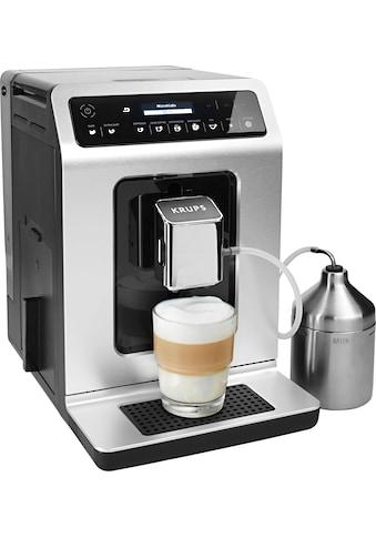 Krups Kaffeevollautomat EA891D Evidence Metal Espresso - Vollautomat, 2,1l Tank, Kegelmahlwerk kaufen