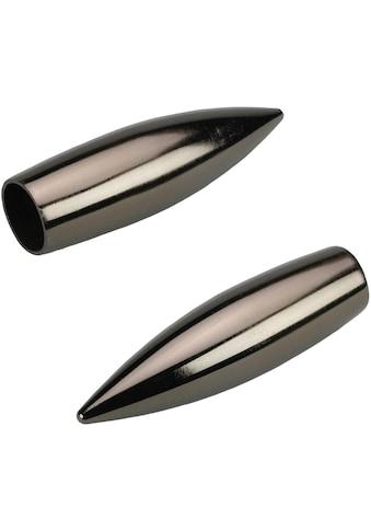 Liedeco Gardinenstangen-Endstück »Bullet«, für Gardinenstangen Ø 16 mm kaufen