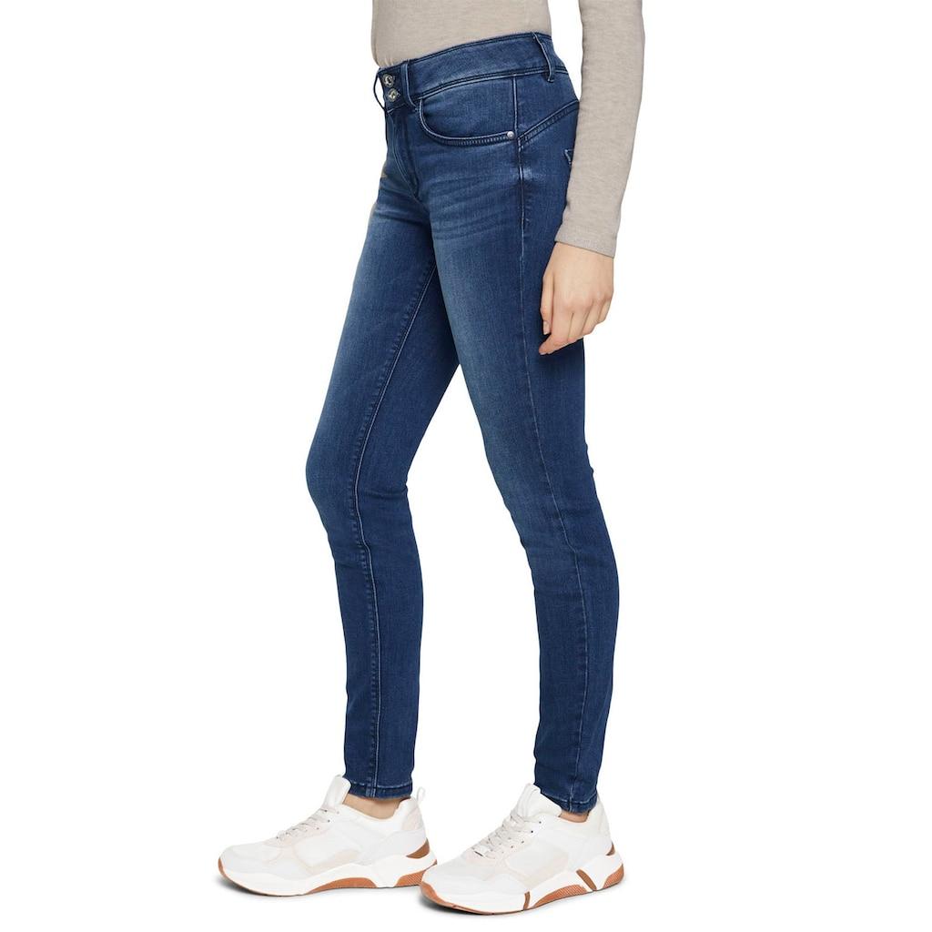 TOM TAILOR Skinny-fit-Jeans, mit Doppelknopf-Verschluss