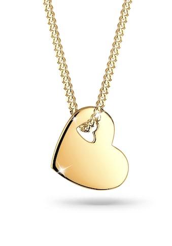 Elli Kette mit Anhänger »Herz Symbol Cut Out 925 Sterling Silber« kaufen