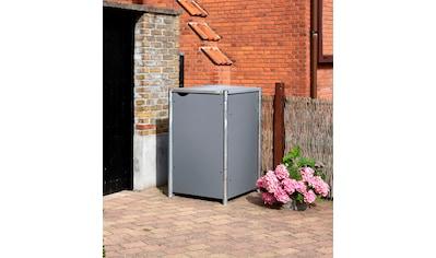 Hide Mülltonnenbox, für 1 x 240 l, grau kaufen