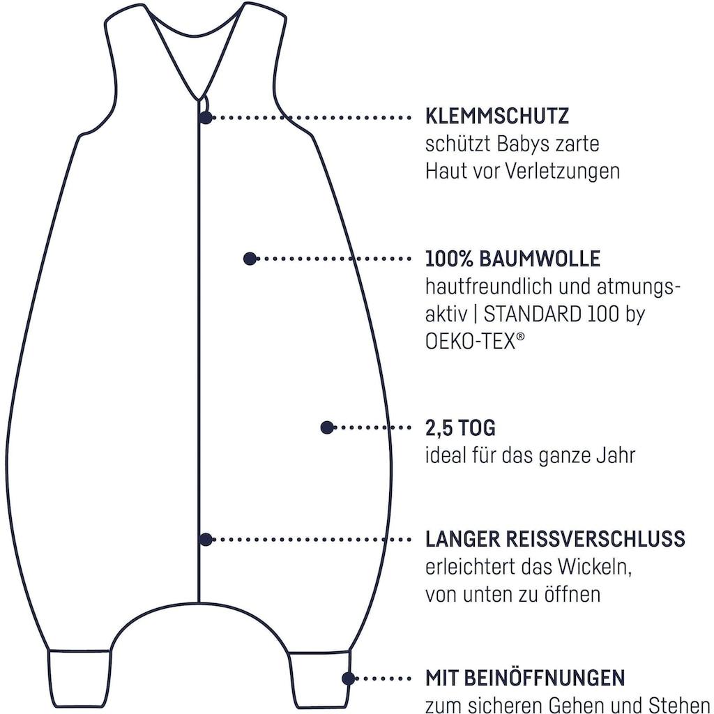 Julius Zöllner Babyschlafsack, mit Beinen Jersey Jumper Crazy Animals