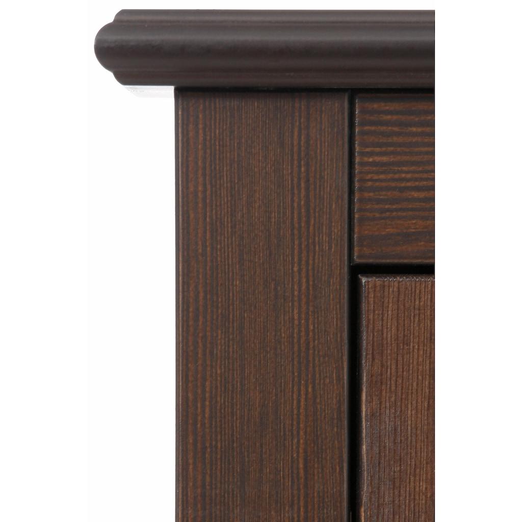 Home affaire Schuhkommode »Rauna«, Breite 120 cm, aus massiver Kiefer