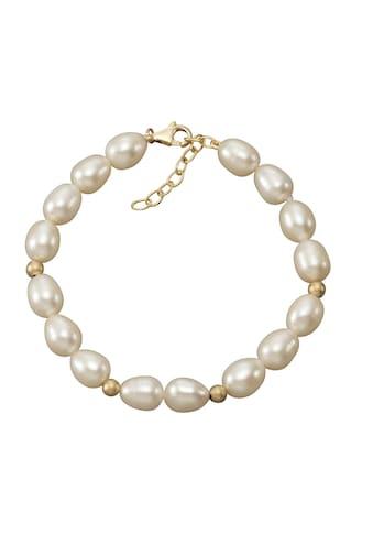 Vivance Armband »585/ -  Gelbgold Perlen Goldkugeln« kaufen