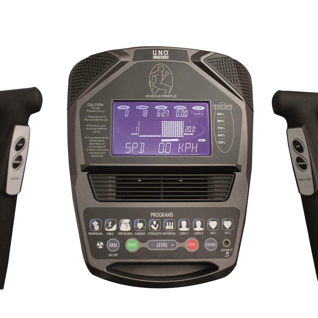 U.N.O. FITNESS Ellipsentrainer-Ergometer »Crosstrainer XE 5.1«
