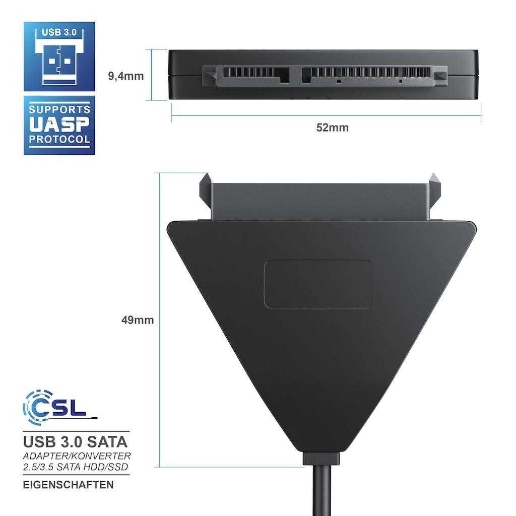 CSL USB 3.0 zu SATA Adapter Kabel ohne Netzteil