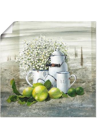 Artland Wandbild »Stillleben mit Milchkanne«, Arrangements, (1 St.), in vielen Größen... kaufen