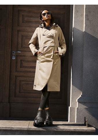 ALPENBLITZ Trenchcoat »Mailand«, mit modisch breit überlappender Blende kaufen