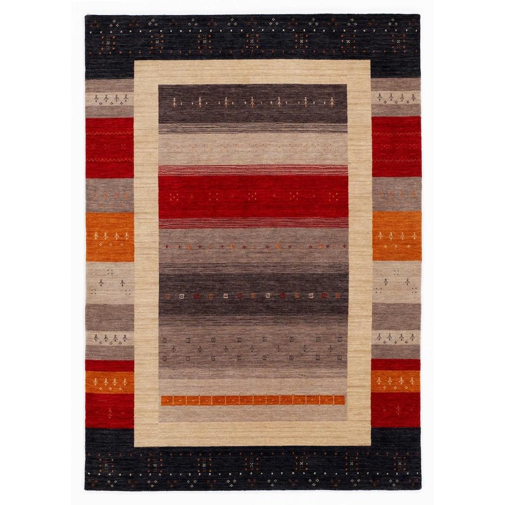 OCI DIE TEPPICHMARKE Wollteppich »Loriba Style«, rechteckig, 14 mm Höhe, reine Wolle, handgeknüpft, Wohnzimmer