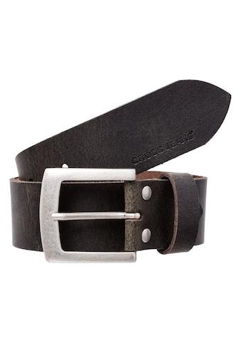 Cross Jeans® Ledergürtel »0384K«, die Gürtellänge kann durch eine Schraubsystematik... kaufen