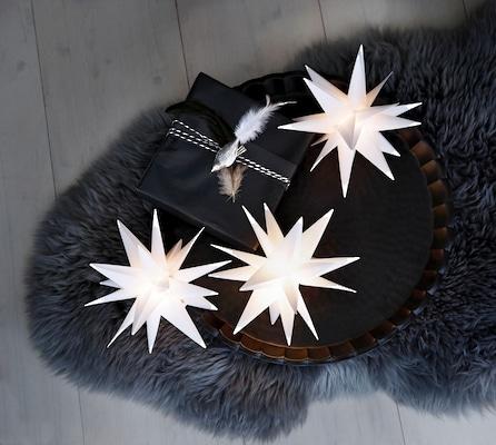 festliche Weihnachtsbeleuchtung für Innen