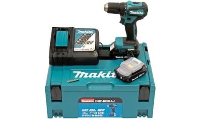 Makita Akku-Bohrschrauber »DDF483RAJ«, inkl. 2 Akkus mit je 2 Ah kaufen