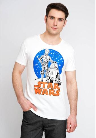 LOGOSHIRT Printshirt mit lizenzierten Originaldesign kaufen