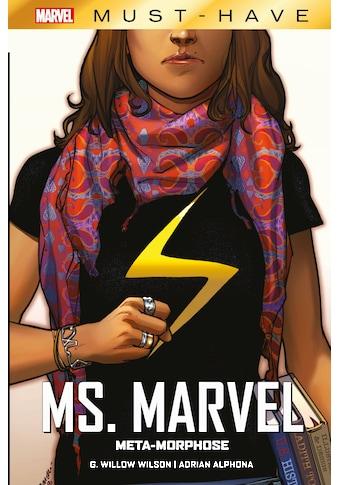 Buch »Marvel Must-Have: Ms. Marvel: Meta-Morphose / G. Wilow Wilson, Adrian Alphona,... kaufen