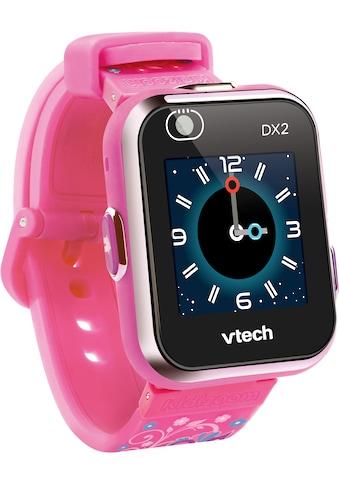 Vtech® Lernspielzeug »KidiZoom Smart Watch DX2, pinkflower«, mit Kamerafunktion kaufen