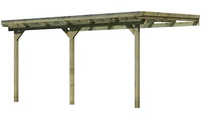 KARIBU Terrassendach »Eco Gr. B«, Breite 433 cm, verschiedene Tiefen kaufen