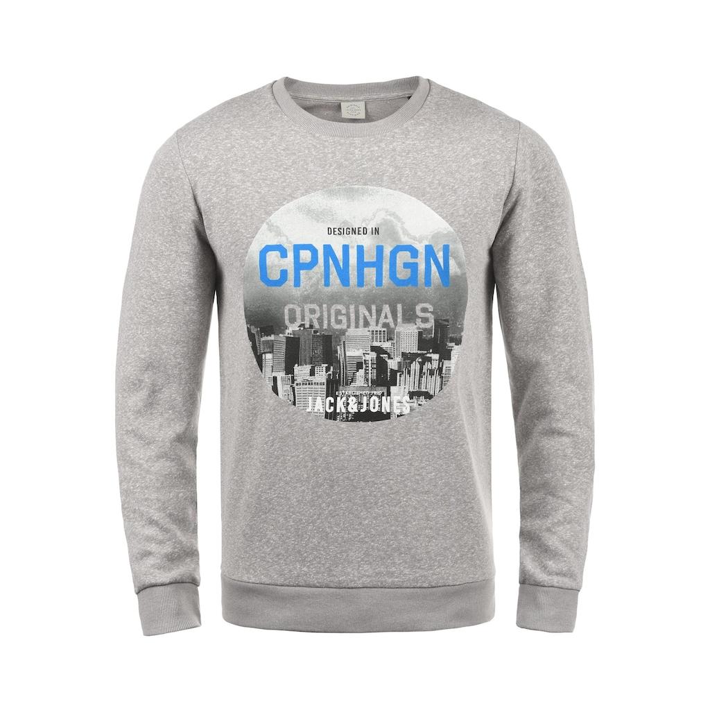 Jack & Jones Sweatshirt »Photosnow«, Sweatpullover mit Print
