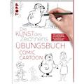 Buch »Die Kunst des Zeichnens - Comic Cartoon Übungsbuch / Frechverlag«