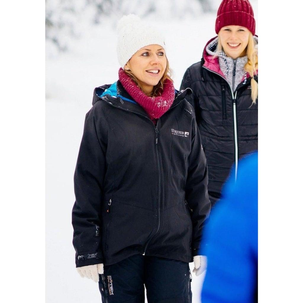 DEPROC Active Winterjacke »Whistler Women 3in1«, auch in Großen Größen erhältlich