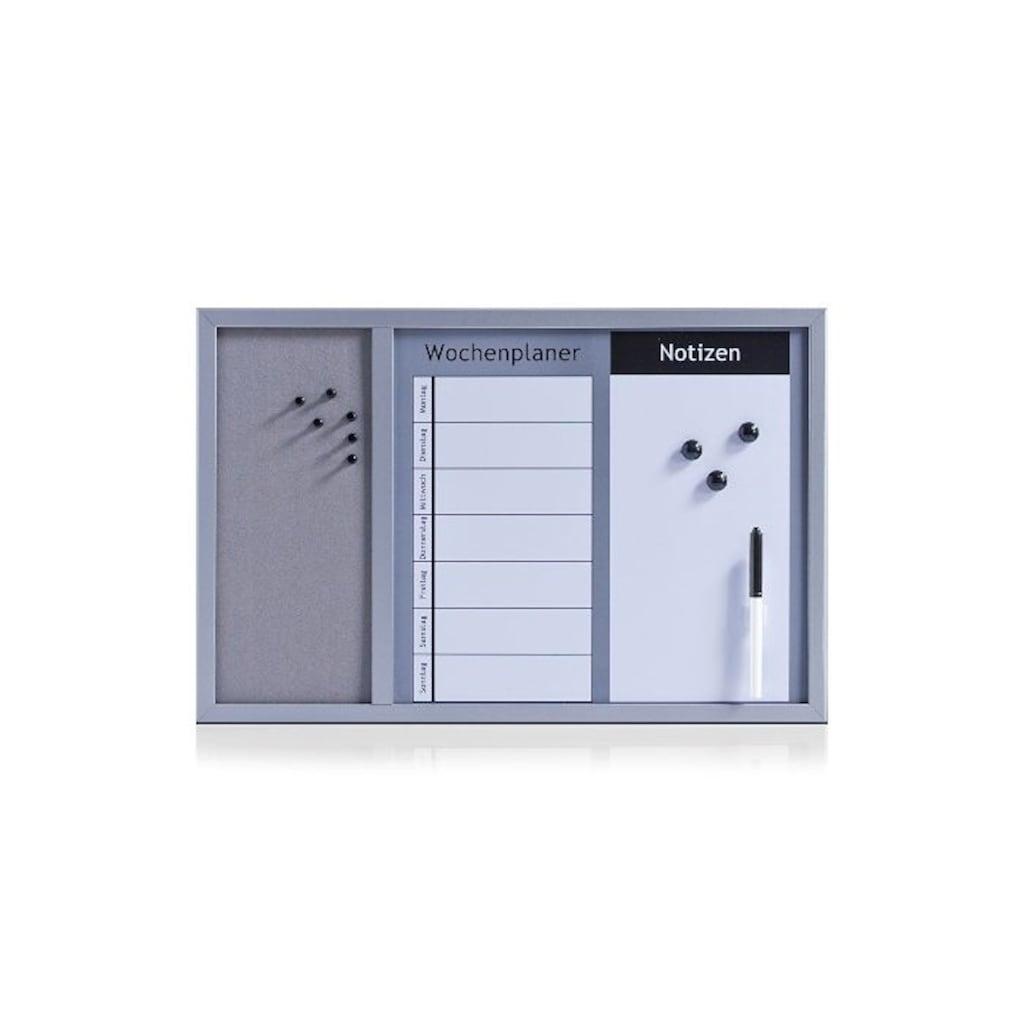Zeller Present Memoboard, mit Magnettafel, Wochenplaner und Pinnwand