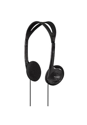 Thomson HED1115BK Kopfhörer, On-Ear, ultraleicht, Schwarz kaufen
