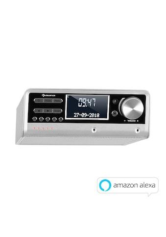 Auna Küchenradio Alexa-VoiceControl Spotify BT silber kaufen