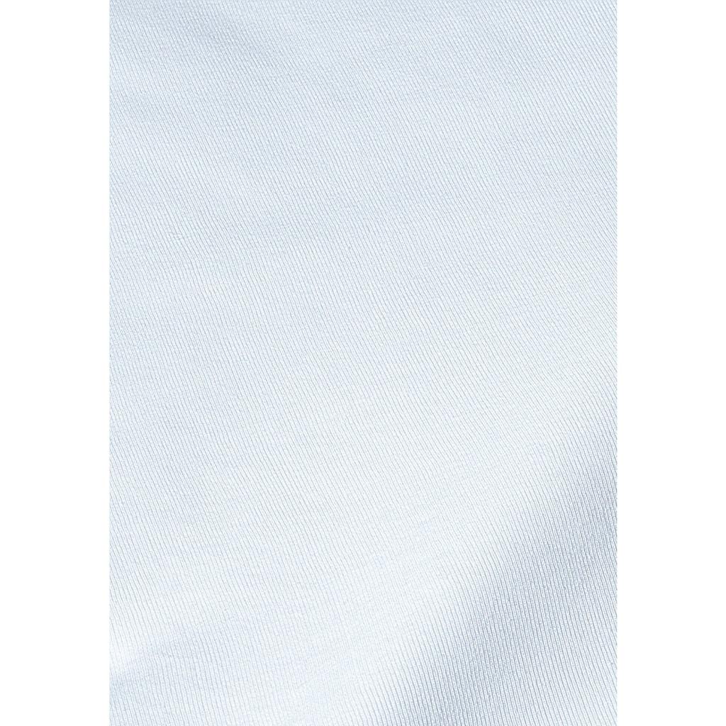 Clipper Slip, (8 St.), schlichtes Basic für jeden Tag aus Feinripp