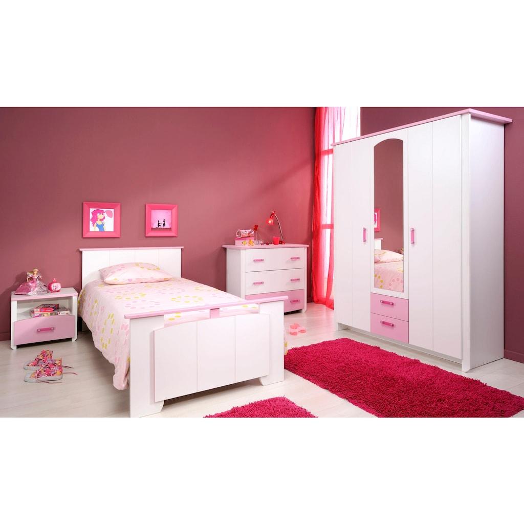 Parisot Jugendzimmer-Set »Biotiful«, (Set, 4 St.), mit Kleiderschrank und Kommode