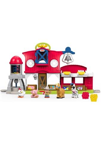 Fisher-Price® Lernspielzeug »Little People - Bauernhof«, mit Soundeffekt kaufen