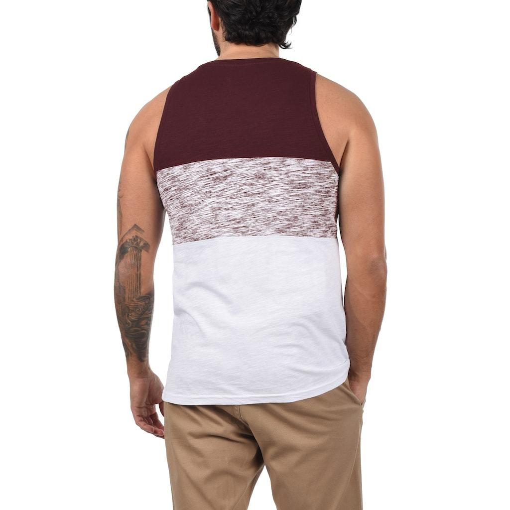 Solid Tanktop »Sion«, Ärmelloses Shirt
