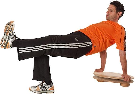 Wippbrett für Rückentraining
