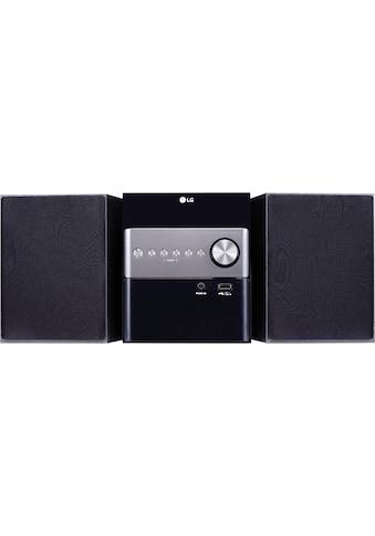 LG »CM1560DAB« Microanlage (Digitalradio (DAB+), 10 Watt) kaufen