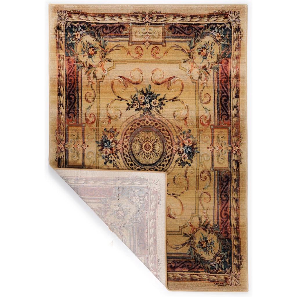 THEKO Teppich »Gabiro 856«, rechteckig, 10 mm Höhe, Orient-Optik, Wohnzimmer