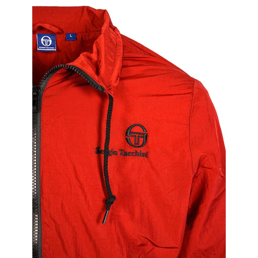 Sergio Tacchini Sweatjacke DEVONTE mit kleinem Logodruck