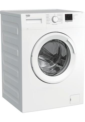 BEKO Waschmaschine »WML61223N1«, WML61223N1, 6 kg, 1200 U/min, LED-Display kaufen