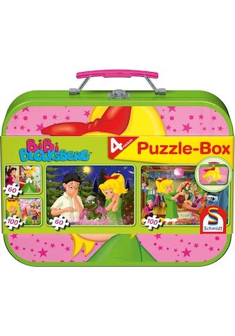 Schmidt Spiele Puzzle »Puzzlebox im Metallkoffer, Bibi Blocksberg™« kaufen