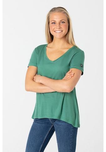 SUPER.NATURAL T-Shirt »W SUMMER TEE«, geruchshemmender Merino-Materialmix kaufen