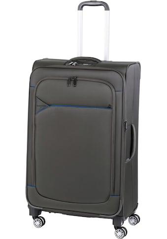 """Hardware Weichgepäck - Trolley """"SKYLINE 3000 L, ivy/dark blue"""", 4 Rollen kaufen"""