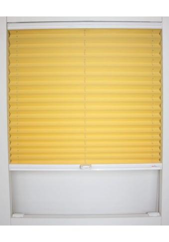 Dachfensterplissee nach Maß, »Medoc«, sunlines, verdunkelnd, mit Bohren, verspannt kaufen