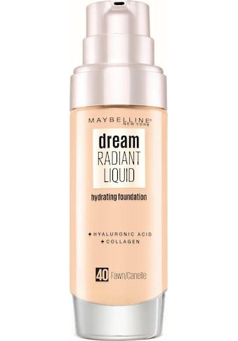 MAYBELLINE NEW YORK Foundation »Dream Radiant Liquid« kaufen
