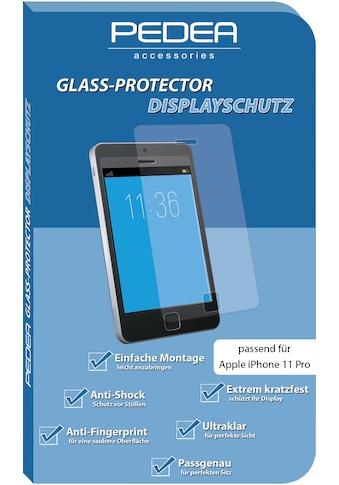 PEDEA Schutzglas »Display - Schutzglas für Apple iPhone 11 Pro« kaufen