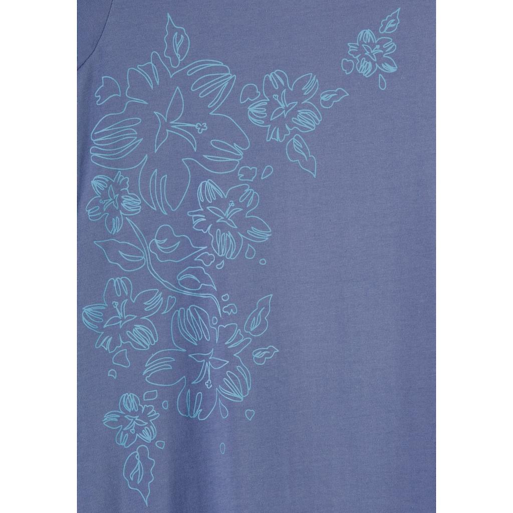 Vivance Dreams Nachthemd, (2er-Pack), mit Blumenprint