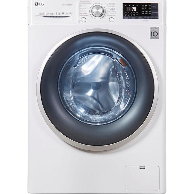 LG Waschtrockner F14WD96EH1, 9 kg / 6 kg, 1400 U/Min
